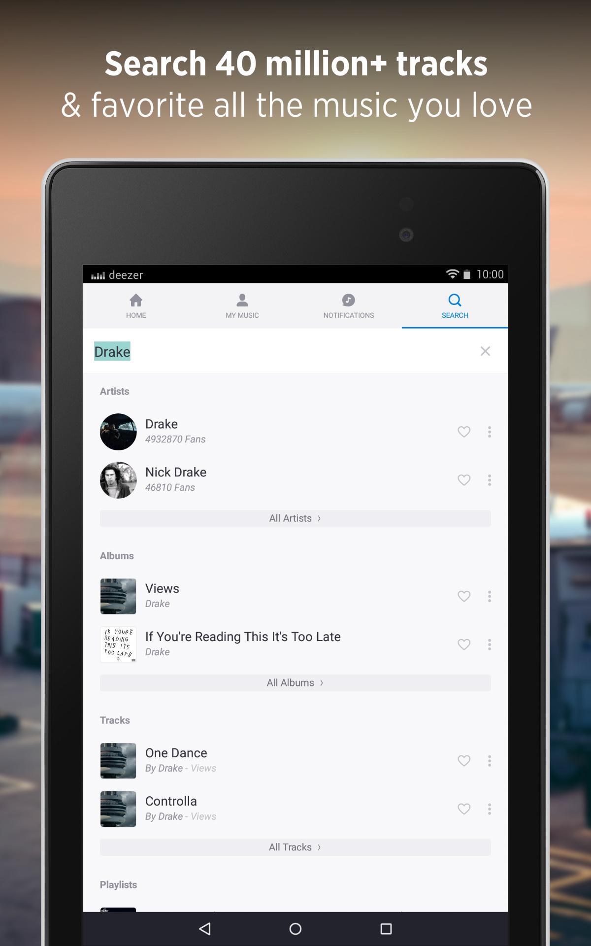Deezer - Songs & Music Player screenshot #15
