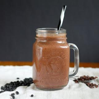 Chocolate Black Bean Brownie Smoothie.