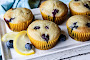 Lemon Yogurt Blueberry Muffins Recipe