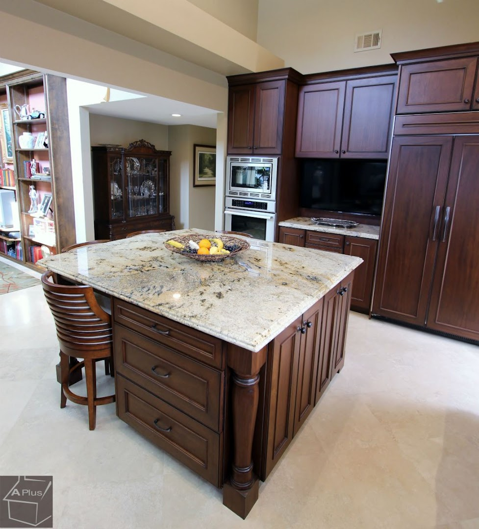 traditional kitchen remodel in city of irvine: aplus interior design