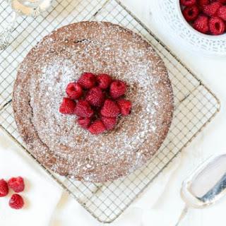 Kladdkaka (Swedish Fudgy Chocolate Cake).