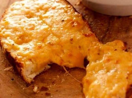 Crunchy Cheese Toast Recipe