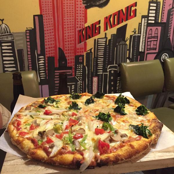 The Little New York Pizzeria 小紐約披薩店 延吉街 美式披薩 男模老闆 不正經食記 @ sallyxsally