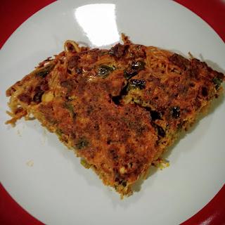 Chorizo Pasta Frittata