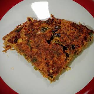 Chorizo Pasta Frittata.