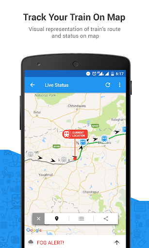 PNR Status & Indian Rail Info app (apk) free download for Android/PC/Windows screenshot