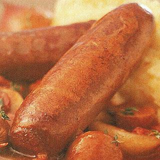 Vension Sausage Casserole.