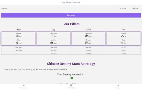 Chinese Zodiac 2018 Destiny Stars Astrology Apps On Google Play