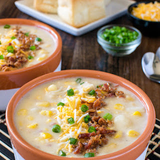 Corn Chowder With Potatoes And Chicken Recipes