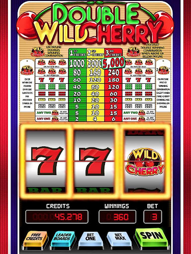 Wild Cherry Double Slots 1.3 screenshots 6