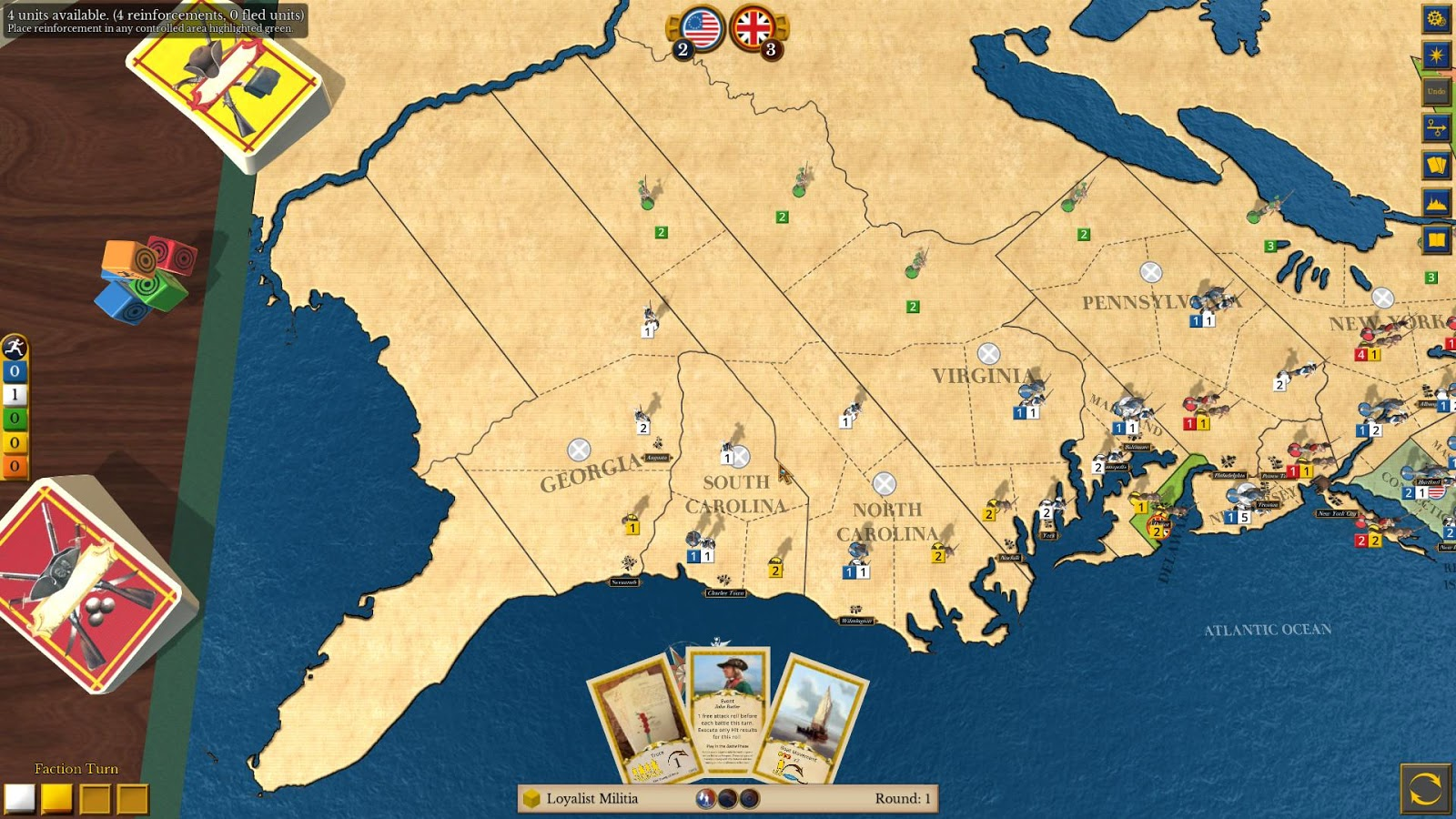 1775: Rebellion- screenshot