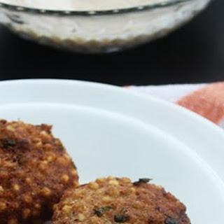 Sabudana Wadas/ Tapioca Fritters