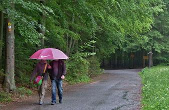 Photo: Wer lässt sich schon von ein bisschen Regen den Spaß verderben?!