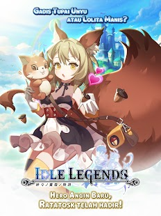 Idle Legends: Hero Angin Baru- Ratatosk Screenshot