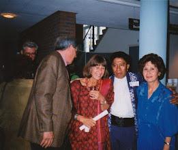 Photo: Peter Abbink, Paula Mönch, Guus Hahijari en Ann