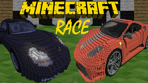 Minecraft Car Racing 1.2 screenshots 1