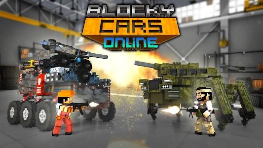 Blocky Cars Online v4.1.1 (Mod Money)