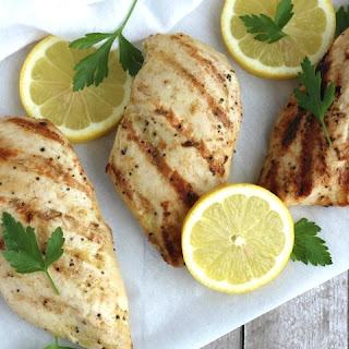 Grilled Chicken Marinade with Lemon and Garlic Recipe