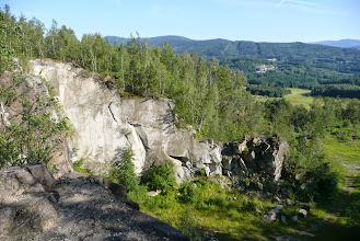 Photo: Jeden z mnoha lomů v krajině Žulovské pahorkatiny