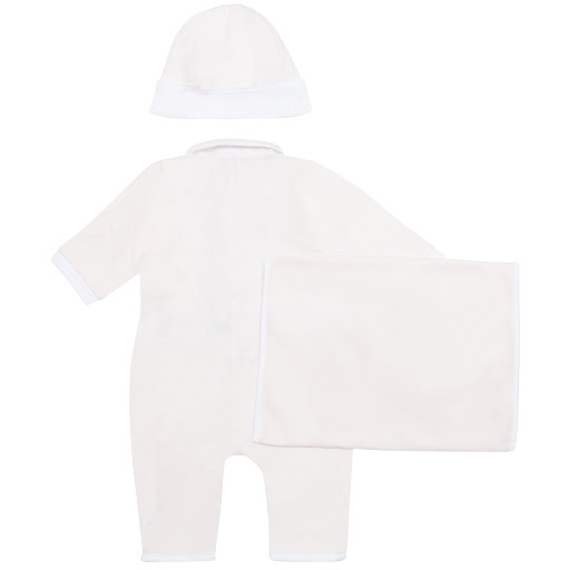 Thumbnail images of Emporio Armani Logo Babysuit Set