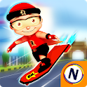 Mighty Raju 3D Hero: Endless Running Chase icon