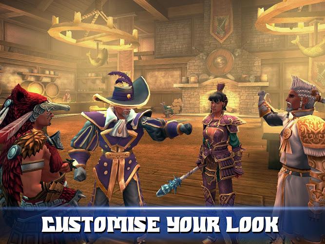 ... Celtic Heroes - 3D MMORPG Android App Screenshot ...