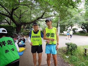 Photo: ツルカメ+ヒロ ヒロは7キロ痩せて精悍な風貌