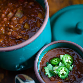 Vegan Crockpot Chili
