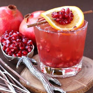 Pomegranate Old Fashioned