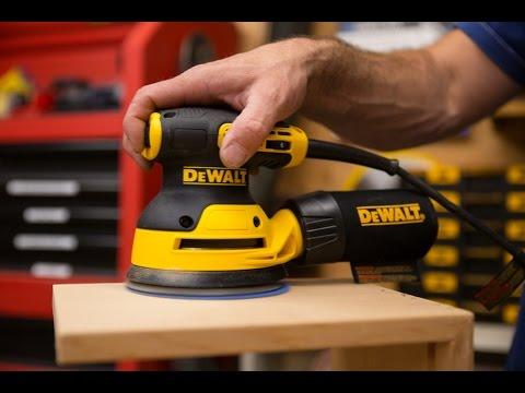 DEWALT Random Orbital Sander DWE6423K Review - YouTube