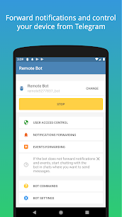 Remote Bot for Telegram & Viber MOD (Unlocked) 1