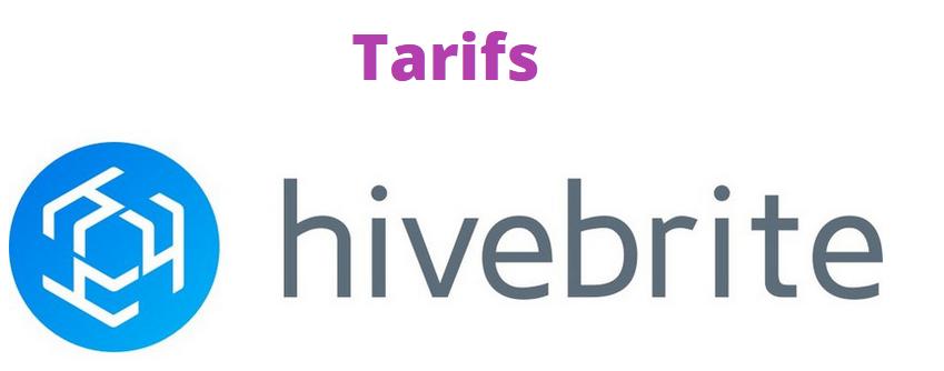 Tarifs Hivebrite