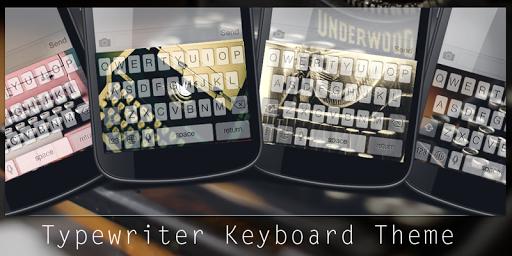 Typewriter Keyboard Theme