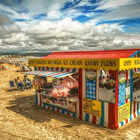 Beside The Seaside, Beside The Sea by Nigel Finn - Landscapes Beaches