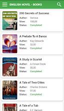 English Novel Books - Offline screenshot thumbnail