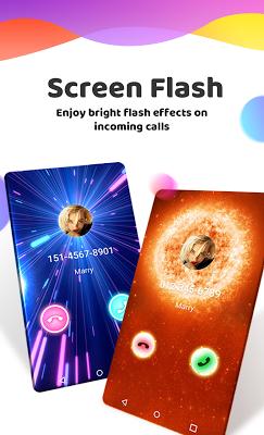 Color Phone Flash - Call Screen Theme - screenshot