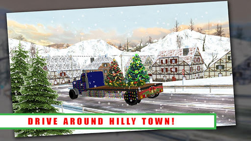Christmas Tree Transport Truck