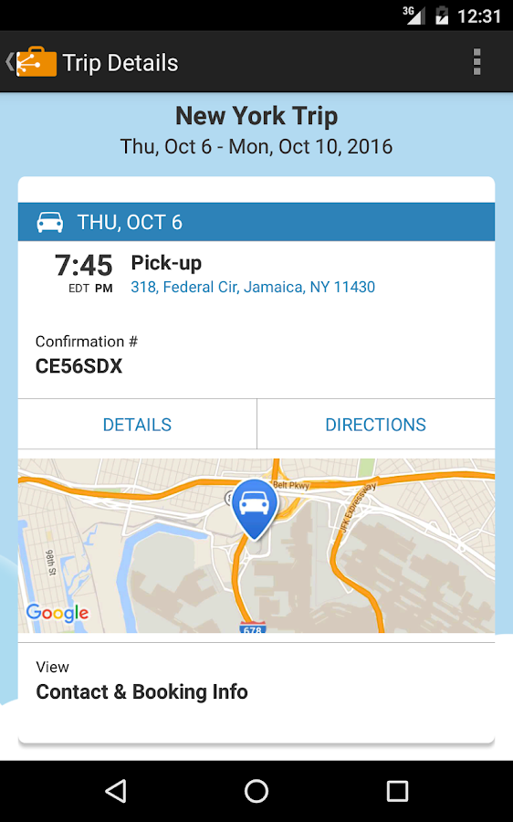 TripIt: Travel Organizer- screenshot