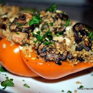 Do Something Different – Mediterranean Couscous Stuffed Peppers.