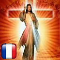Holy Rosary Mercy in French with audio offline icon