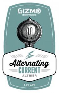 Logo of Gizmo Brew Works Alternating Current Altbier