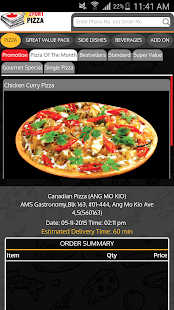 Canadian 2 for 1 Pizza SG- screenshot thumbnail