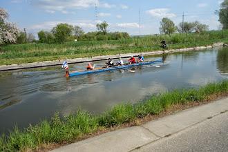 Photo: za obci Spytyhněv začíná plavební kanál