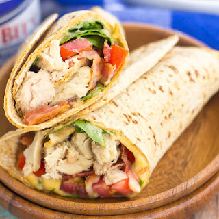 Tuna Spinach Wrap.