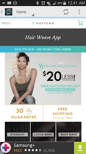 Hair Weave App- screenshot thumbnail