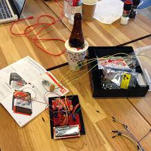 Photo: The Perfect Pour! Silicon Chef Hardware Hackathon.