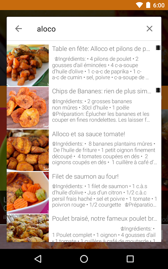Ivorian food recipes android apps on google play ivorian food recipes screenshot forumfinder Choice Image