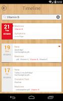 Screenshot of myCalendar - Period Tracker