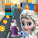 Subway Ice Princess City Runner