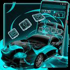 Neon Car Theme icon